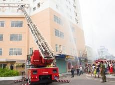 Diễn Tập Phòng Cháy Chữa Cháy Cho Cư Dân Tại HQC Hóc Môn Và HQC Plaza