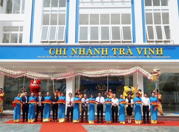 Tập đoàn Hoàng Quân tổ chức thành công Lễ khánh thành nhà điều hành, mở bán 79 căn đẹp nhất và công bố giai đoạn 2  Khu đô thị mới HQC Trà Vinh