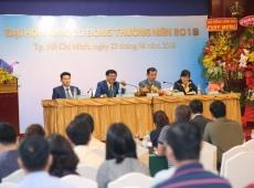 Tập đoàn Hoàng Quân tổ chức thành công  đại hội đồng cổ đông thường niên năm 2018.