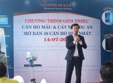 Lotus Plaza chính thức cất nóc Block B và ra mắt căn hộ mẫu hiện đại đầu tiên tại Tiền Giang.