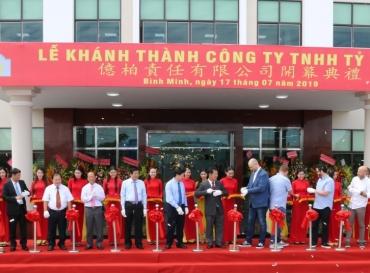 Công Ty TNHH Tỷ Bách Khánh Thành Nhà Máy Sản Xuất Giày Xuất Khẩu Tại Khu Công Nghiệp Bình Minh (Vĩnh Long)