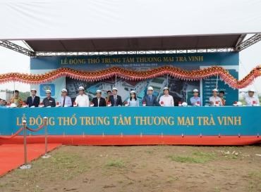 Địa Ốc Hoàng Quân Tổ Chức Thành Công Lễ động thổ TTTM Trà Vinh, Giao Nhà Hoàn Thiện Và Mở Bán Khu Phố Cát Tường Tại Khu Đô Thị Mới Trà Vinh
