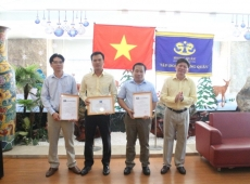 Tập Đoàn Hoàng Quân Tổ Chức Tuyên Dương, Khen Thưởng Cán Bộ, Nhân Viên Xuất Sắc Năm 2017