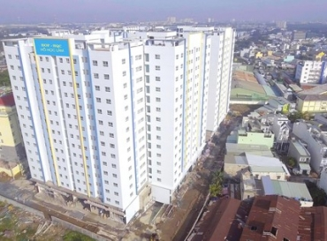 Chính thức bàn giao 4 khối nhà ở xã hội dự án HOF - HQC Hồ Học Lãm cho cư dân