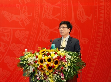 DR. TRUONG ANH TUAN JOIN CONFERENCE LAUNCHING MISSION, PLANNING OF CONSTRUCTION SECTOR IN 2016