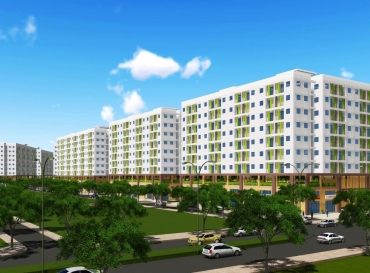 HQC TAN HUONG SOCIAL HOUSING APPROVED 1/500 DETAILED PLANNING