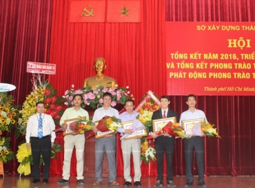 HOANG QUAN GROUP (HQC) IS AWARDED CERTIFICATE OF MERIT BY HCMC DEPARTMENT OF CONSTRUCTION FOR ACTIVE PARTICIPATION IN INVESTMENT IN SOCIAL HOUSING CONSTRUCTION & DEVELOPMENT