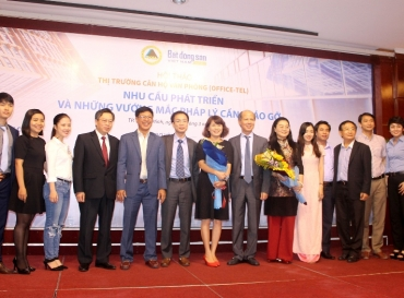 "HOANG QUAN GROUP PARTICIPATES IN THE SEMINAR ""THE OFFICETEL MARKET: DEMAND FOR DEVELOPMENT AND LEGAL PROBLEMS TO SOLVE"""