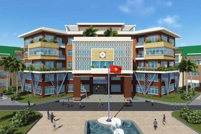 Khu đô thị - đại học Đồng bằng sông Cửu Long